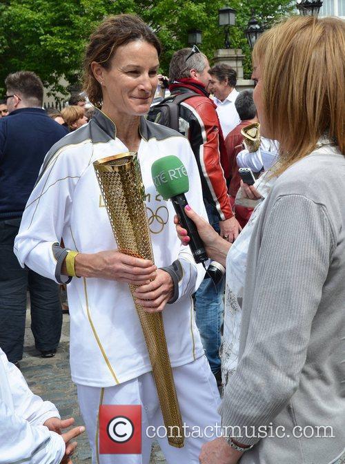 Sonia O'Sullivan  London 2012 Olympic Torch Bearers...