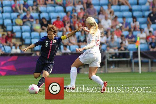 Aya Miyama (Japan) Women's Football first round Group...
