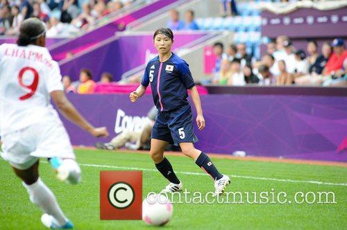 Aya Sameshima (Japan) Women's Football first round Group...