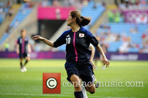 Homare Sawa (Japan)  Women's Football first round...