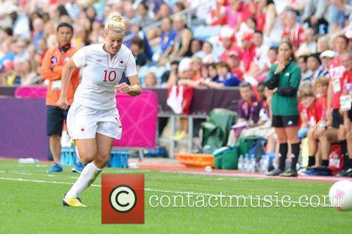Lauren Sesselmann (Canada)  Women's Football first round...