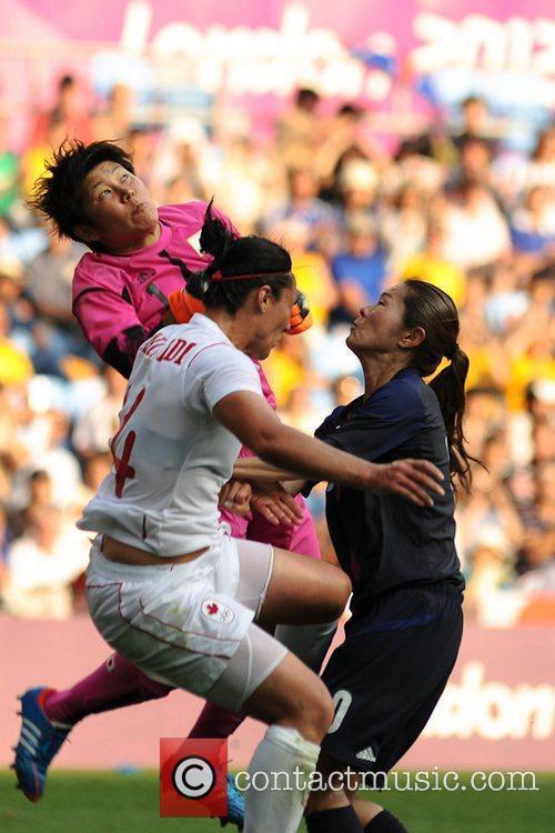 Miho Fukumoto (Japan)  Women's Football first round...