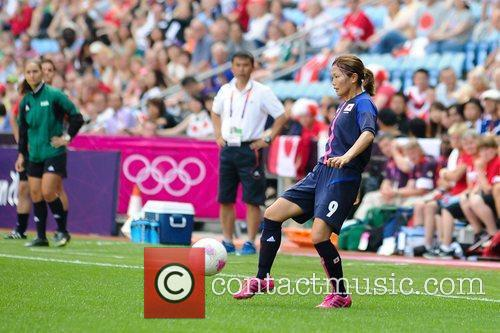 Nahomi Kawasumi (Japan)  Women's Football first round...