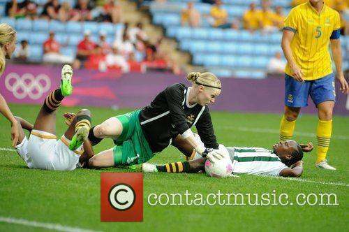 Hedvig Lindahl Women's Football first round Group F...