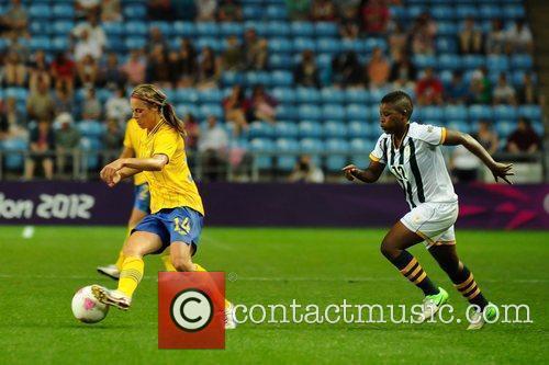 Johanna Almgren Women's Football first round Group F...