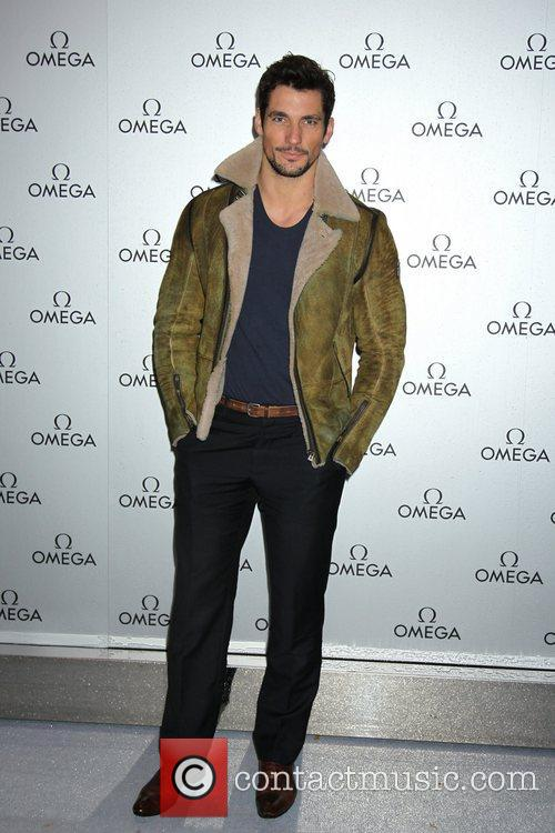 david gandy omega store launch party at 5767231