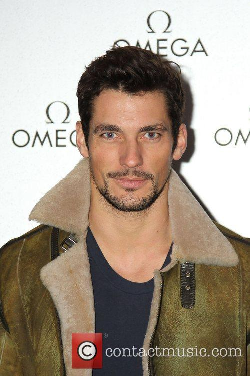 david gandy omega store launch party at 5767232
