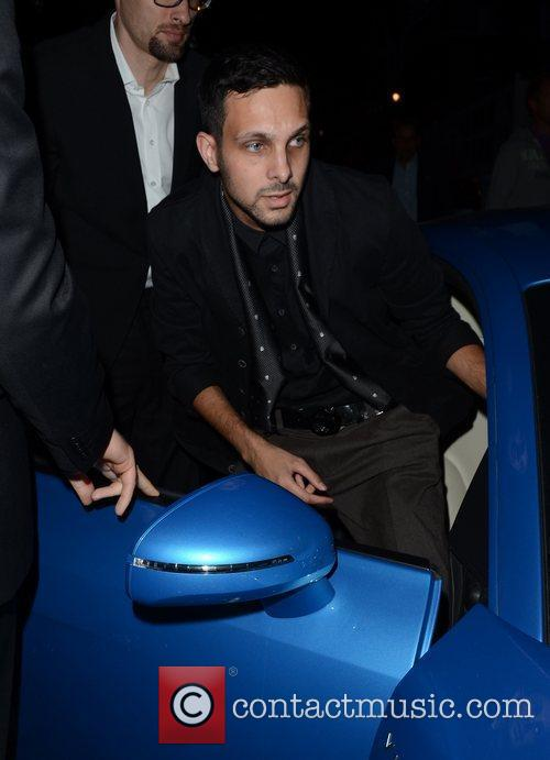 dynamo attending the private opening of omega 4011949