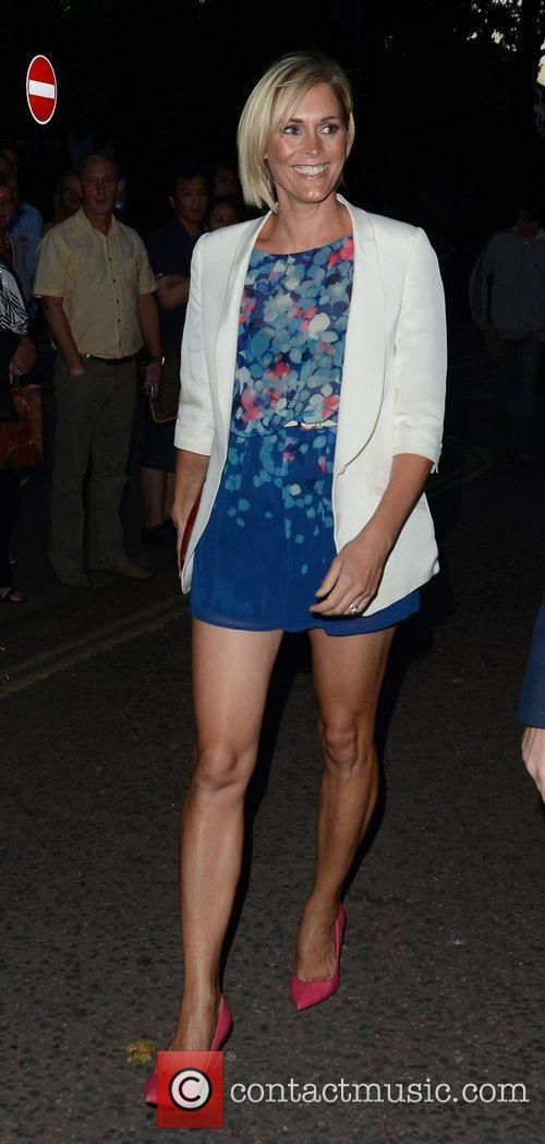 Jenni Falconer  attending the private opening of...