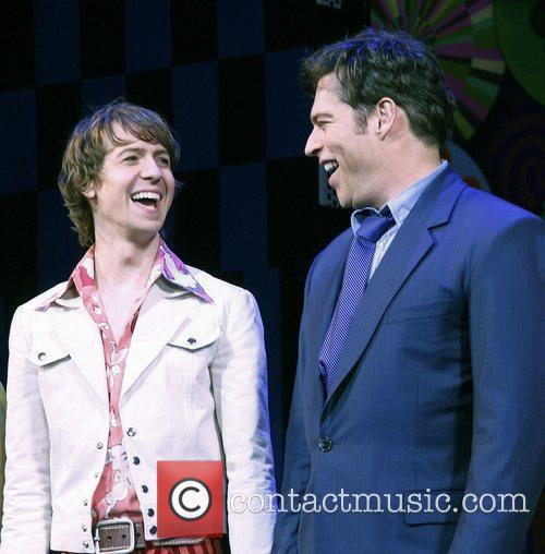 David Turner and Harry Connick Jr. 6