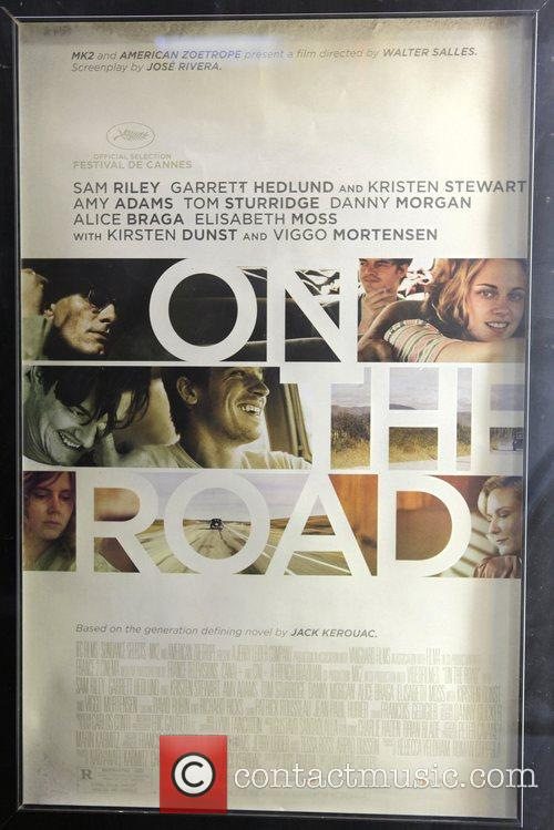 New York premiere of 'On The Road' presented...