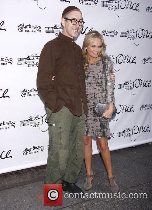Alan Cumming and Kristin Chenoweth  Broadway opening...