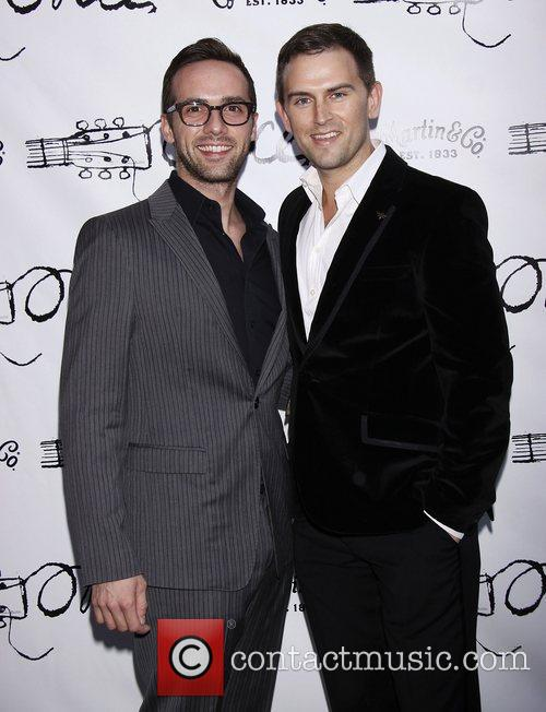 Daniel Reichard  Broadway opening night of the...