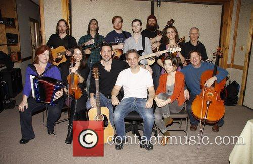 'Once' Broadway cast recording, held at Avatar Studios.