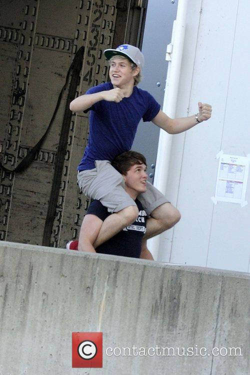 Niall Horan and Josh Devine   One...