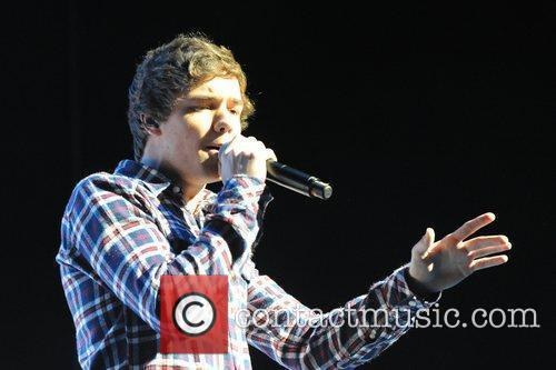 Liam Payne The Group One Direction performs live...