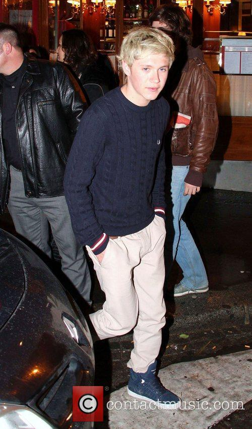 Niall Horan of One Direction leaves Le Relais...