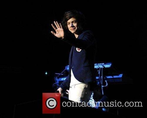Harry Styles  One Direction performs at the...