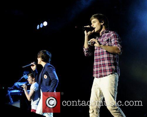 Liam Payne  One Direction performs at the...
