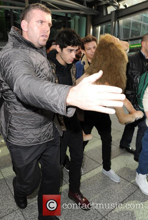 One Direction and Heathrow Terminal 5