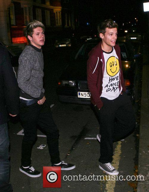 Niall Horan and Louis Tomlinson 1