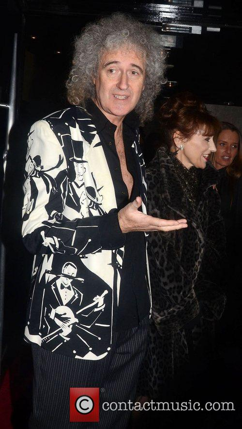 Anita Dobson, Brian May and Strictly Come Dancing 1
