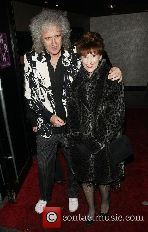 Brian May, Anita Dobson and Strictly Come Dancing 1