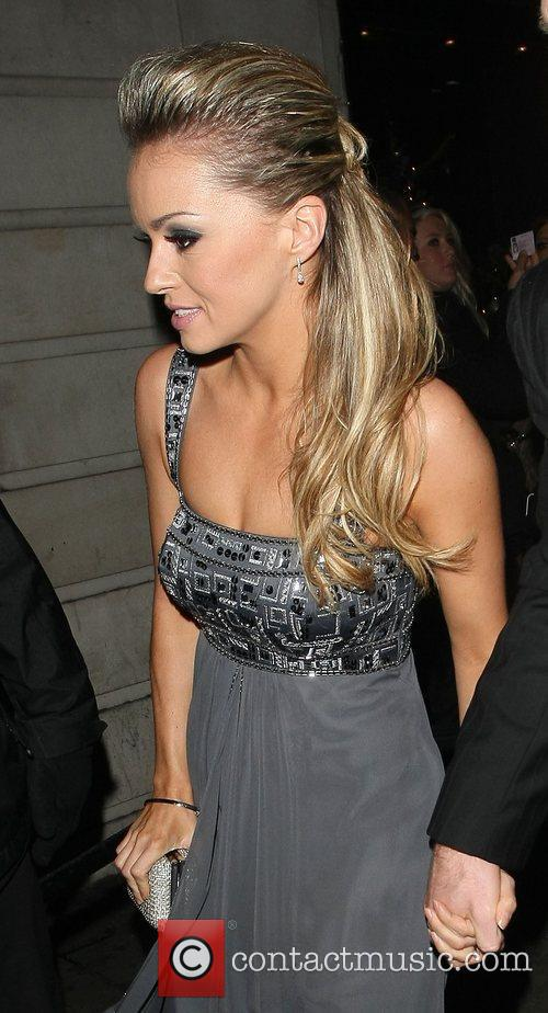 ola jordan at the strictly come dancing 3662453