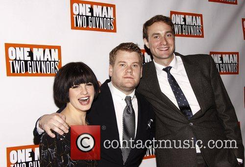 Jemima Rooper, James Corden and Oliver Chris...