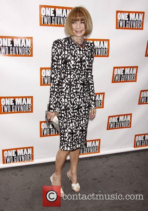 Anna Wintour  Broadway opening night of 'One...