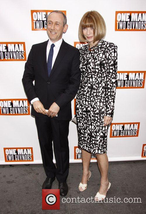 Nicholas Hytner and Anna Wintour