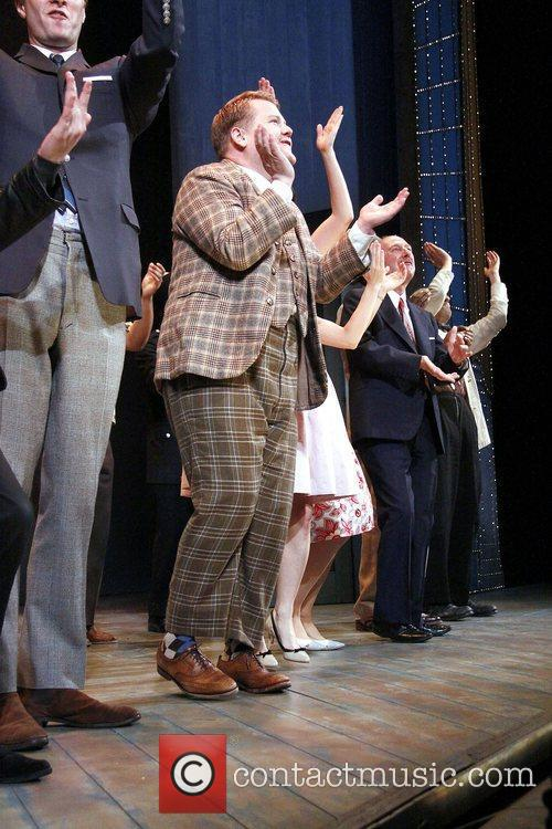 Broadway opening night of 'One Man, Two Guvnors'...