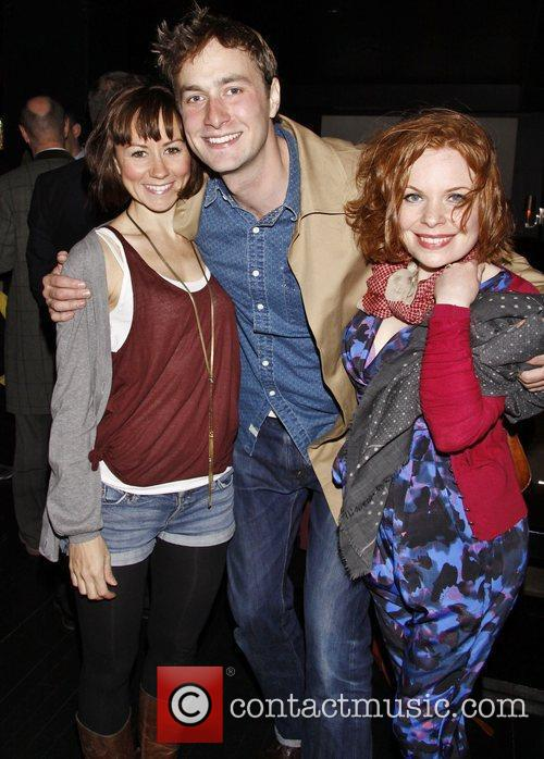 Claire Lams, Oliver Chris and Suzanne Toase Party...