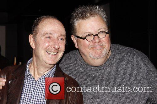 Fred Ridgeway and Martyn Ellis Party celebrating the...