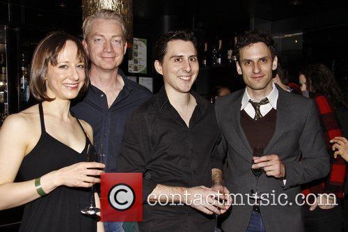 Sarah Manton, Ben Livingston, Stephen Pilkington and Eli...