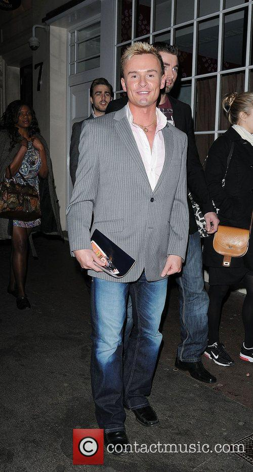 John Lee at the press night of 'One...