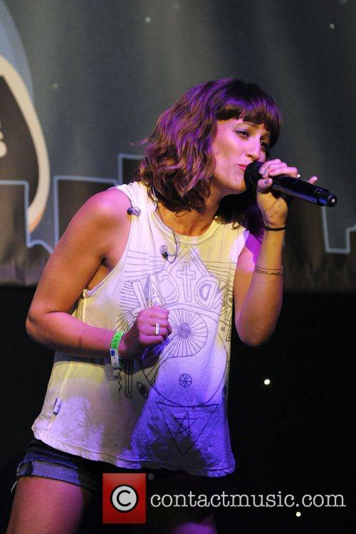 Martina Sorbara of Dragonette  performs at the...