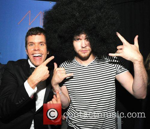 Perez Hilton and Chord Overstreet 2