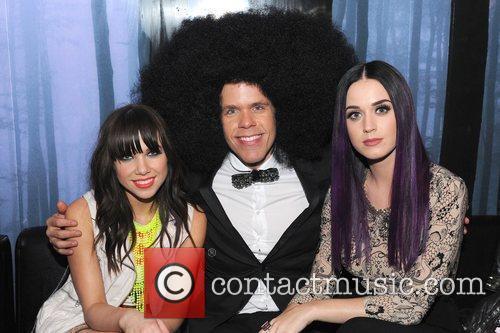 Carly Rae Jepsen, Katy Perry and Perez Hilton 4