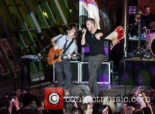 Drew Brown, Ryan Tedder and One Republic 3