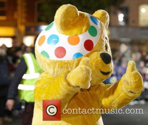 Pudsey Bear taking part of the One Show's...