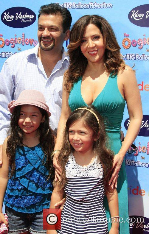 Maria Canals-Barrera and Family The Premiere of 'The...