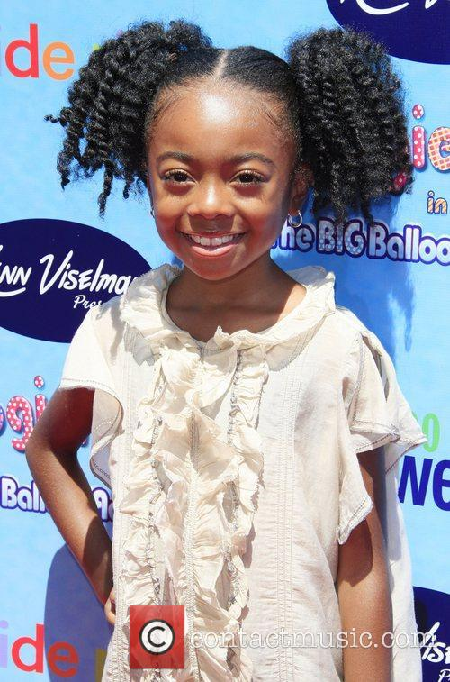 Skai Jackson  The Premiere of 'The Oogieloves...