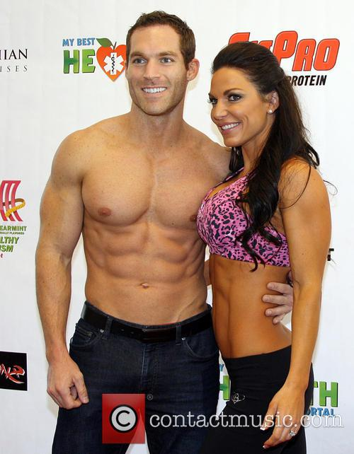 Bobby Strom and Mandy White Operation Fitness Expo...