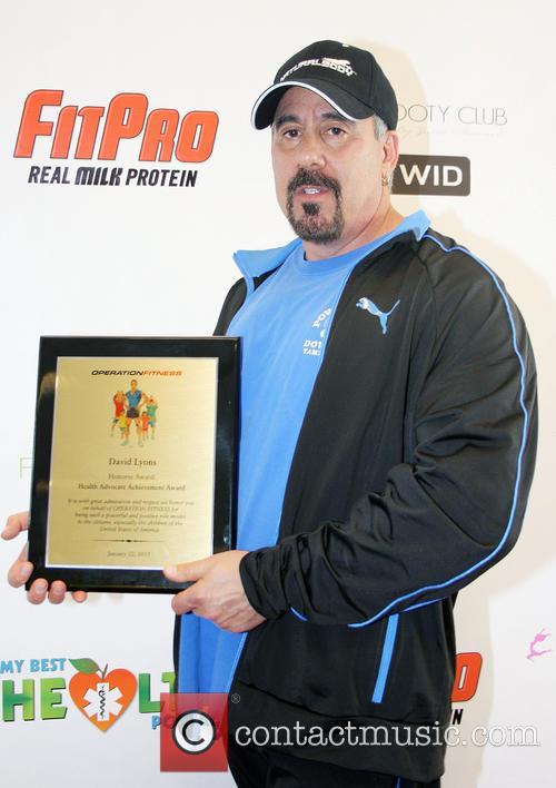 David Lyons Operation Fitness Expo held at the...