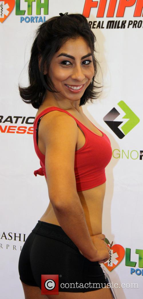 Elsa Gomez Operation Fitness Expo held at the...