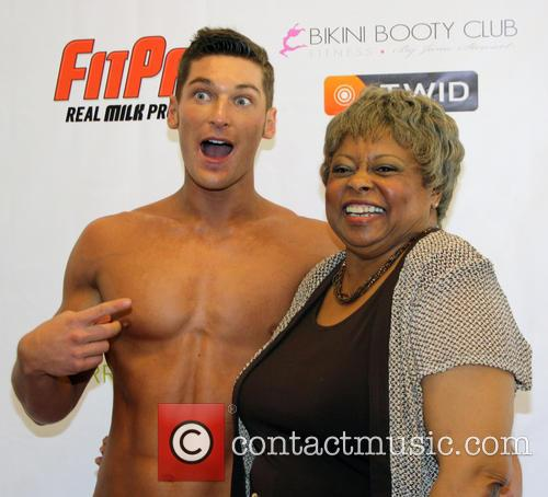 Jesse Gaynor; Reatha Grey Operation Fitness Expo held...
