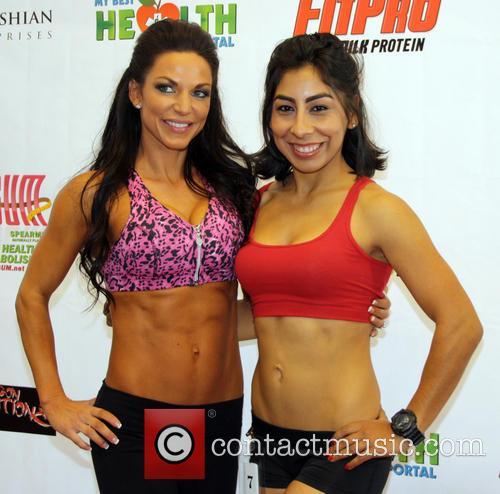 Mandy White; Elsa Gomez Operation Fitness Expo held...