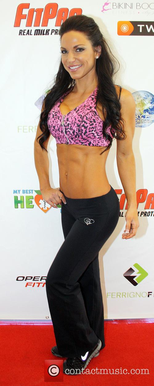 Mandy White Operation Fitness Expo held at the...