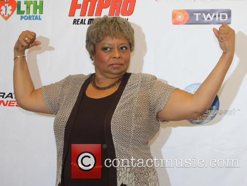 Reatha Grey Operation Fitness Expo held at the...